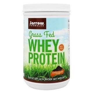 Jarrow Formulas Grass Fed Chocolate 13.8-ounce Protein Powder