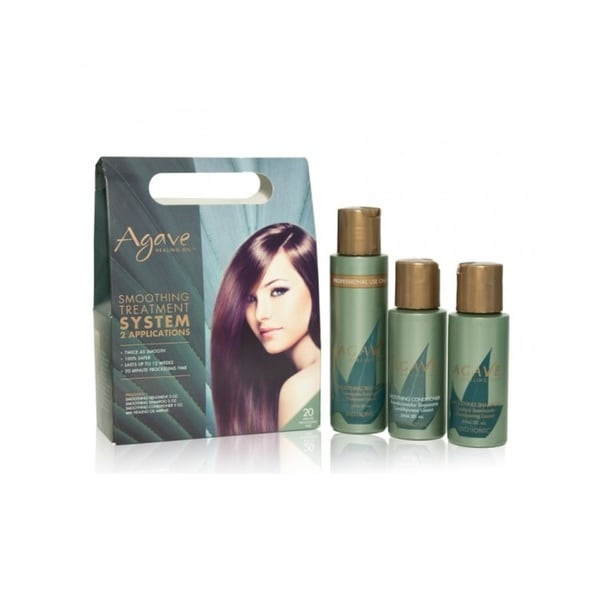 Shop Agave Smoothing Treatment 2 Application Kit