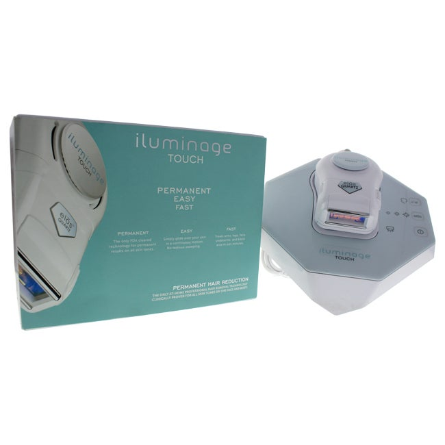 iluminage Touch Permanent Hair Reduction Device with FDA-...