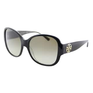 139ab7437944 Quick View.  106.99. Tory Burch TY 7108 16538E Black on White Zig Zag  Plastic Square Sunglasses Green Gradient Lens. 5 of 5 Review Stars