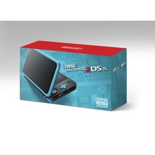 Nintendo 2DS XL, Black & Turquoise