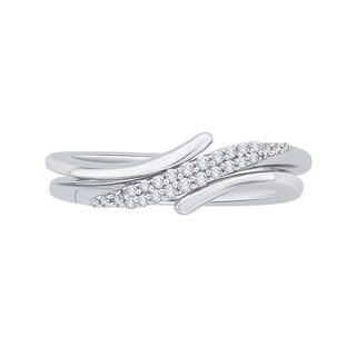 14K White Gold 1/6ct TDW Diamond Fashion Ring (J-K, I1-I2)