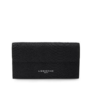 Liebeskind Berlin Maria Black Leather Special Big Wallet|https://ak1.ostkcdn.com/images/products/15645274/P22075341.jpg?impolicy=medium