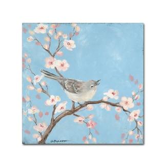 Stephanie Marrott 'Blossom Bird I' Canvas Art