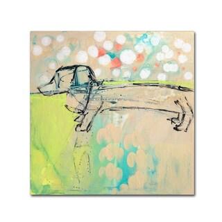 Wyanne 'Dachshund' Canvas Art