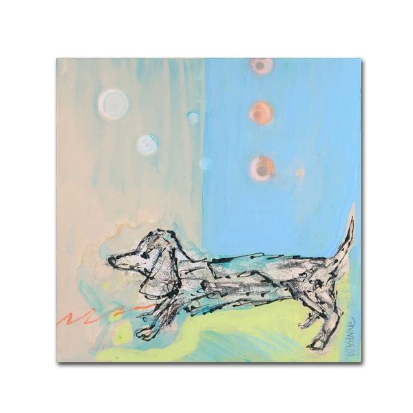shop wyanne doxie stretch canvas art on sale free shipping on