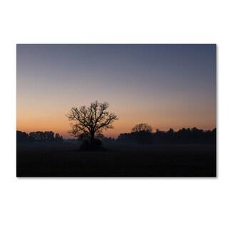 Kurt Shaffer 'Twilight Silhouette' Canvas Art