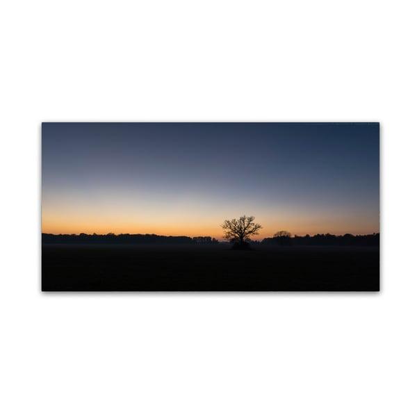 Kurt Shaffer 'Twilight Silhouette 2' Canvas Art