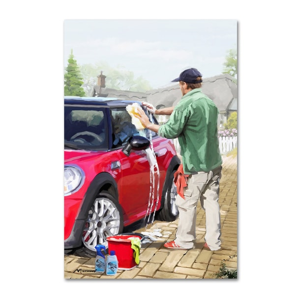 Shop The Macneil Studio Carwash 2 Canvas Art Free Shipping Today
