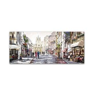 The Macneil Studio 'Sunlit Street' Canvas Art