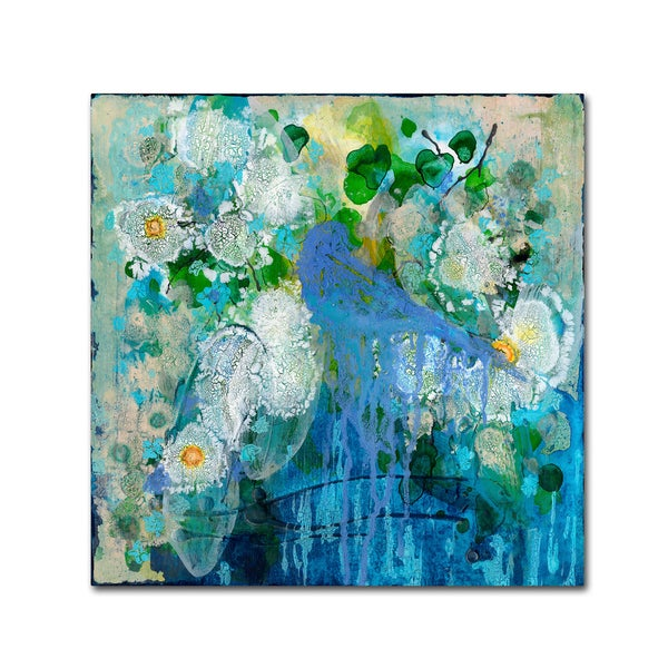 Wyanne 'Bluebird Reflections' Canvas Art