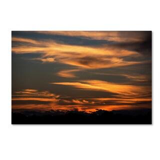 Kurt Shaffer 'Sunset of my Dreams' Canvas Art
