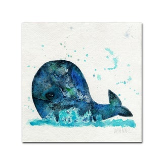Wyanne 'Little Whale' Canvas Art
