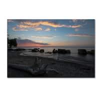 Kurt Shaffer 'Magic on the Shores of Lake Erie' Canvas Art