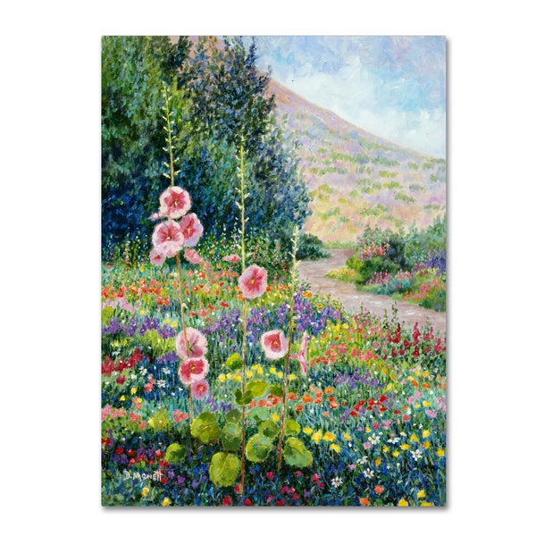 Diane Monet 'Wildflowers' Canvas Art