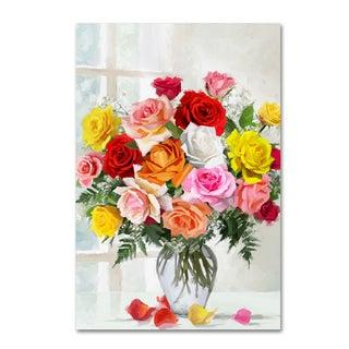 The Macneil Studio 'Roses' Canvas Art