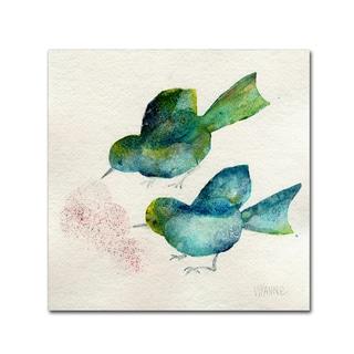 Wyanne 'Bird Seed' Canvas Art