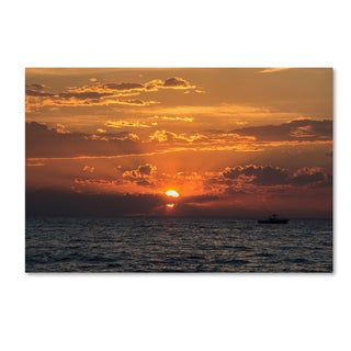 Kurt Shaffer 'Sunset Magic' Canvas Art