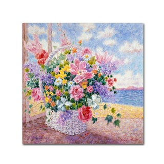 Diane Monet 'Springtime Bouquet' Canvas Art