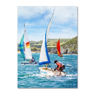The Macneil Studio 'Sailing' Canvas Art