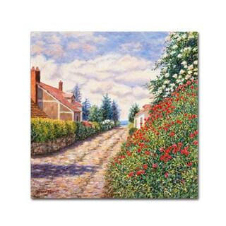 Diane Monet 'Reve' Canvas Art
