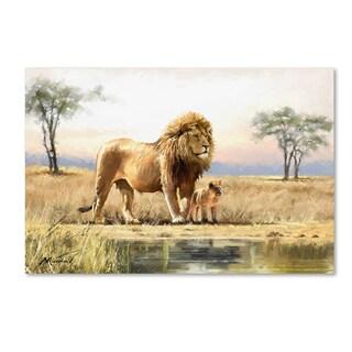The Macneil Studio 'Lion' Canvas Art