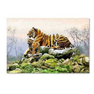 The Macneil Studio 'Tiger' Canvas Art