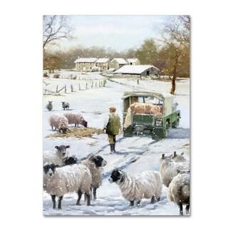 The Macneil Studio 'Farmer Sheep Copy' Canvas Art