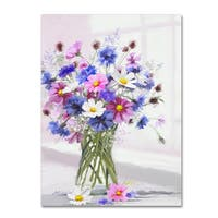 The Macneil Studio 'Cornflower' Canvas Art