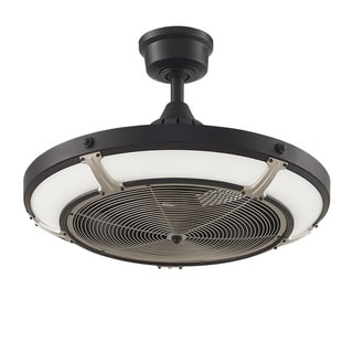 Shop Fanimation Pickett Drum 24 Inch Diameter Ceiling Fan