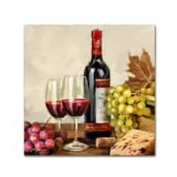 The Macneil Studio 'Vintage Wine' Canvas Art