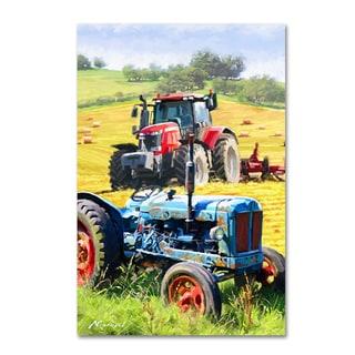 The Macneil Studio 'Tractors' Canvas Art