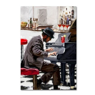 The Macneil Studio 'Piano Player' Canvas Art