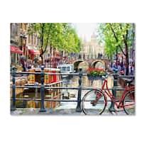 The Macneil Studio 'Amsterdam Landscape' Canvas Art