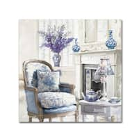 The Macneil Studio 'Blue Room' Canvas Art