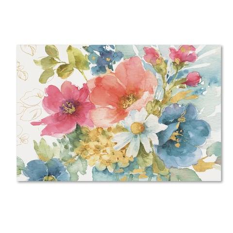 Lisa Audit 'My Garden Bouquet I' Canvas Art