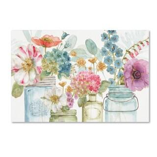 Lisa Audit 'Rainbow Seeds Flowers X' Canvas Art