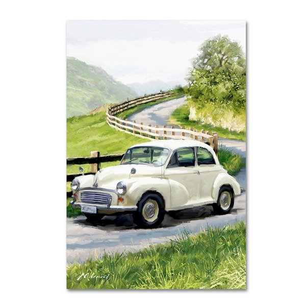 The Macneil Studio 'Morris Minor' Canvas Art