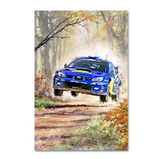 The Macneil Studio 'Rally Car' Canvas Art