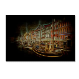 Erik Brede 'Nyhavn' Canvas Art