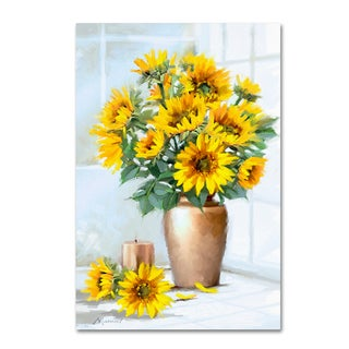 The Macneil Studio 'Sunflowers' Canvas Art