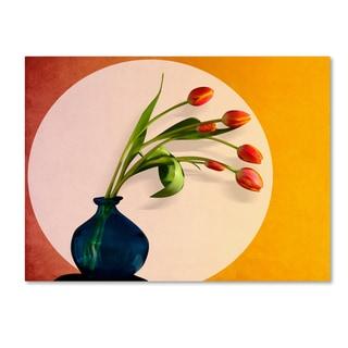 Mark Ashkenazi 'Tulips 3' Canvas Art