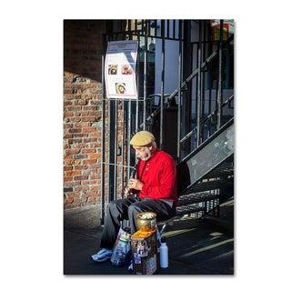 Yale Gurney 'Streets of Seattle' Canvas Art