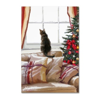 The Macneil Studio 'Cat on Chair' Canvas Art