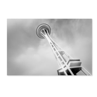 Yale Gurney 'Seattle's Space Needle' Canvas Art
