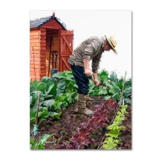 The Macneil Studio 'Gardener' Canvas Art