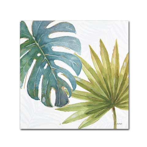 Carson Carrington Virklund Audit 'Tropical Blush VIII' Canvas Art