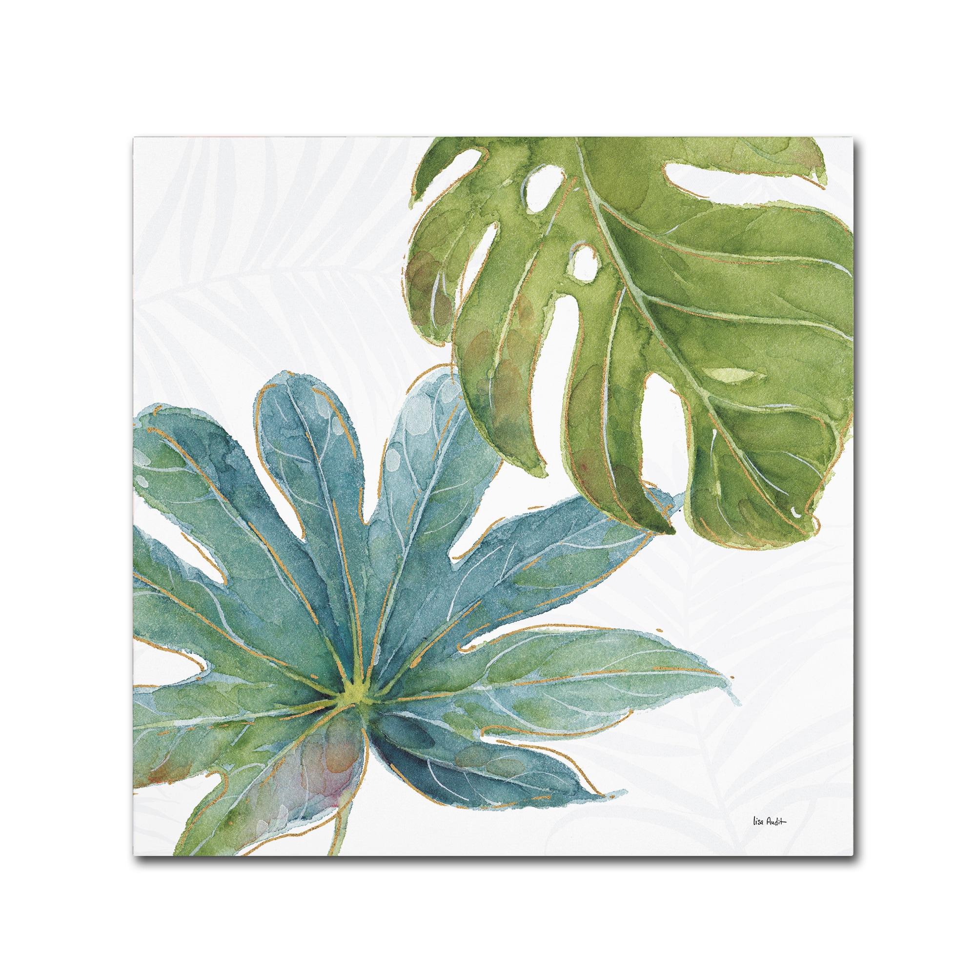 Lisa Audit 'Tropical Blush VII' Canvas Art