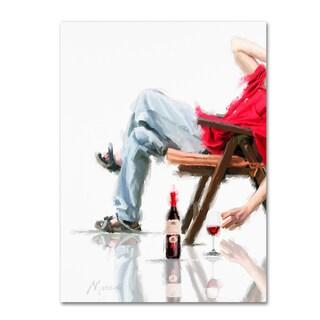 The Macneil Studio 'Male In Chair' Canvas Art