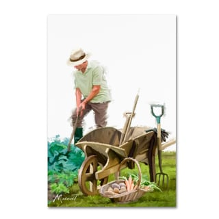 The Macneil Studio 'Gardener' Canvas Art